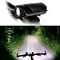 Longer Road Super Bright L2 (T6 Upgrades) Bike Light USB Rechargeable Waterproof Bicycle Headlight