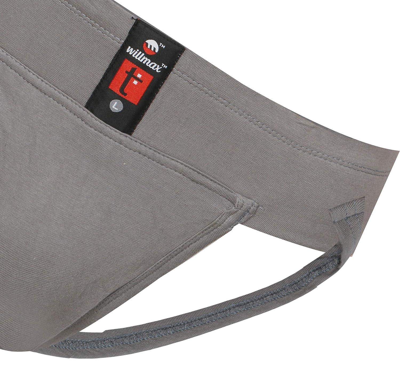 KD Willmax Jockstrap Gym Cotton Supporter Cup Pocket Athletic Fit Underwear