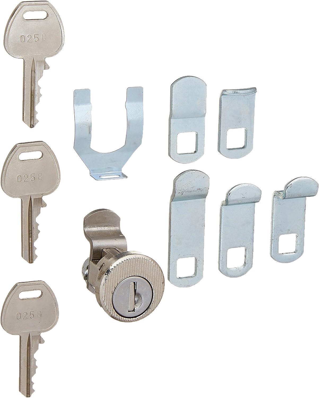 Universal Lock, Pedestal Mailbox, 3 Keys
