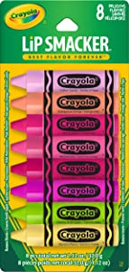 Lip Smacker Crayola Lip Balm Party Pack, 8 Count