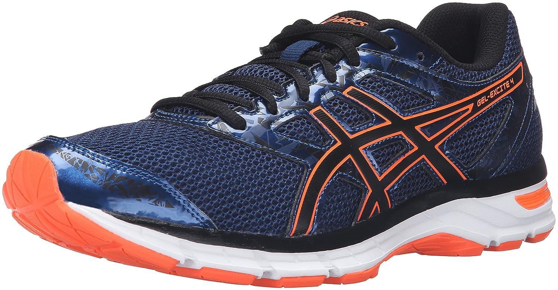 Poseidon noir Hot Orange 39.5 EU ASICS Gel-Excite 4-M, Chaussures de Course pour Homme voiturebon argent noir 37.5 EU