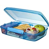 Sistema Lunch Collection Bento Box for Food Storage, Multicolor