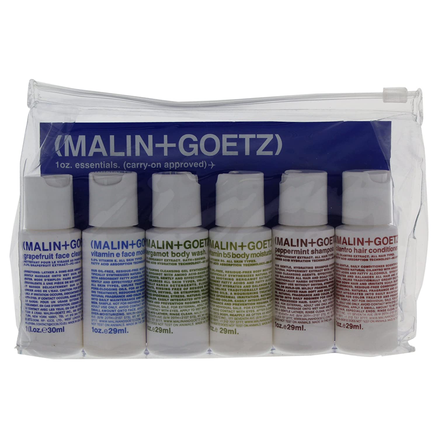 Malin + Goetz Essential Starter Kit-6 count (Malin + Goetz)