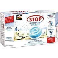 Pattex Stop Feuchtigkeit Aero 360° Luftentfeuchter Nachfüllpack / Gegen Feuchtigkeit und schlechte Gerüche / 4 Universal-Tabs Neutral (4 x 450g)
