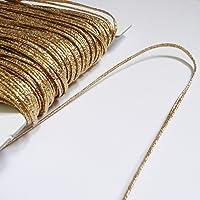 Cordón ruso plateado, 2m, 3mm