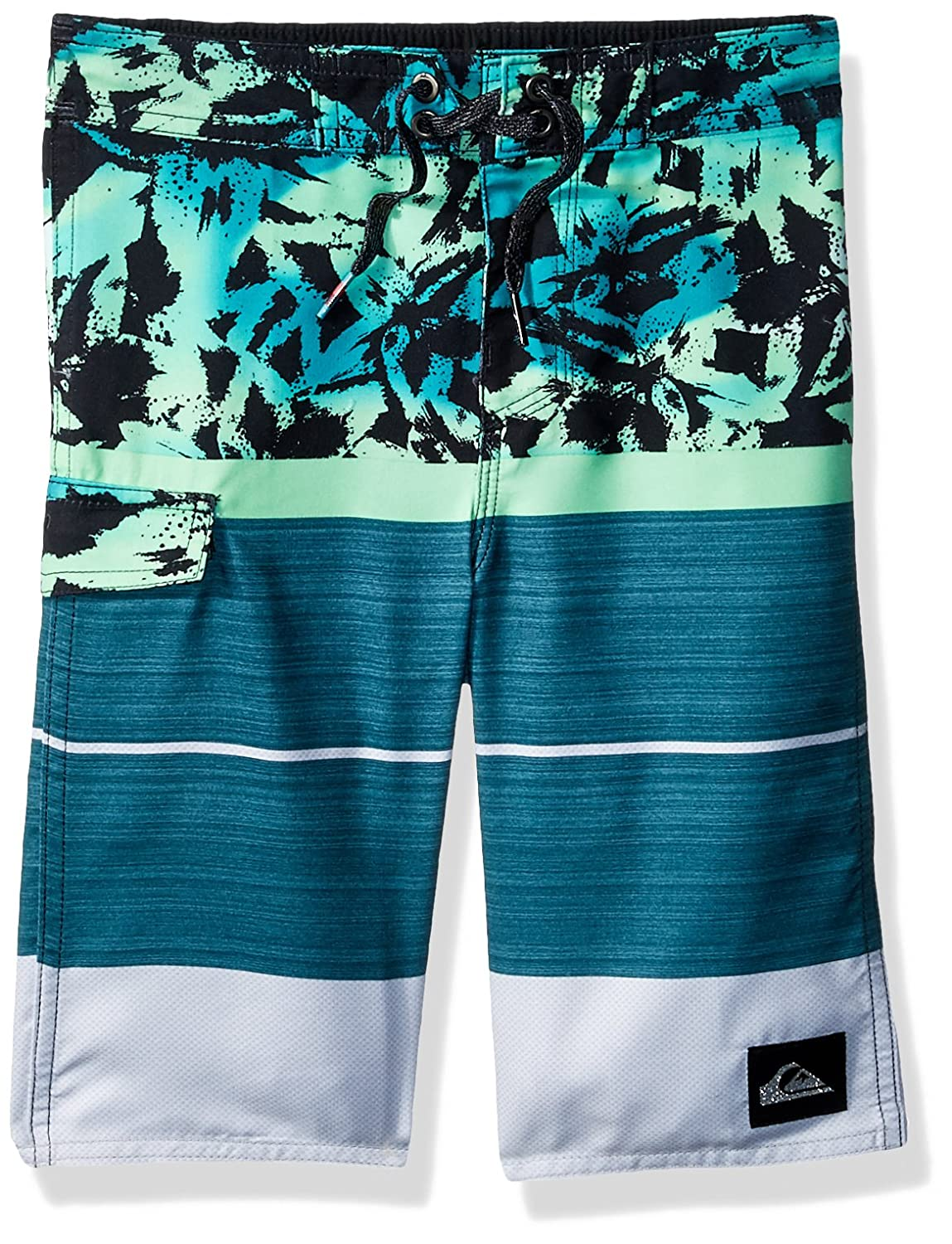 Quiksilver Boys' Little Slab Island Youth Boardshort Swim Trunk