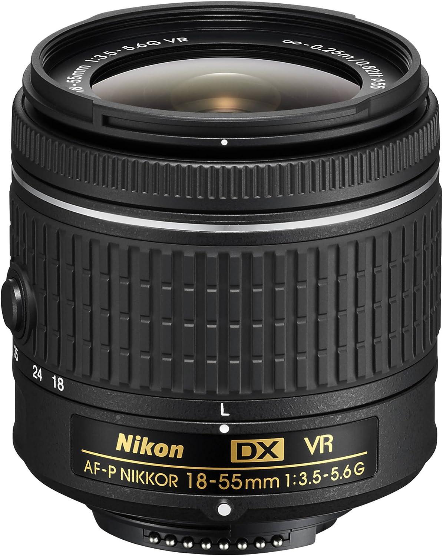 Nikon AF-P DX NIKKOR 18-55mm f//3.5-5.6G VR Lens 20059B Renewed