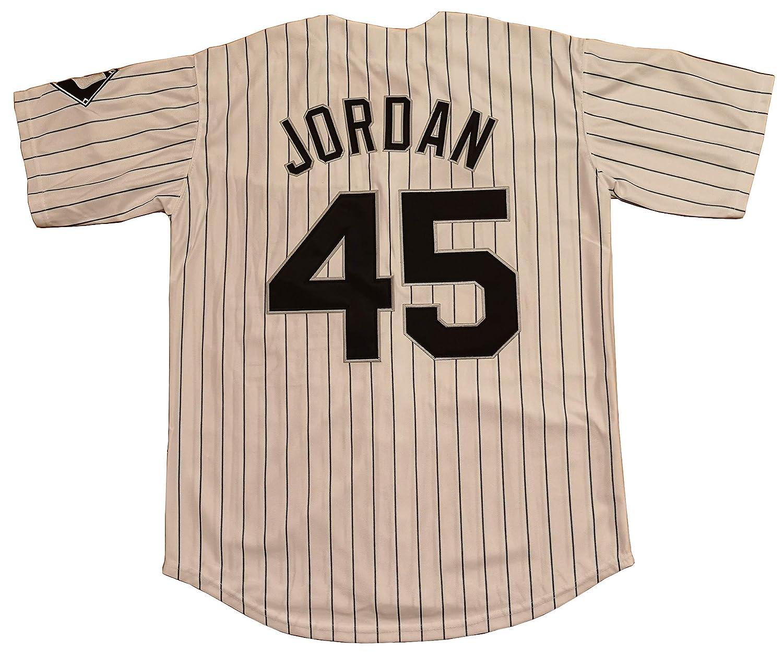 Amazon.com: Kooy Jordan #45 Birmingham Barons - Camiseta de ...