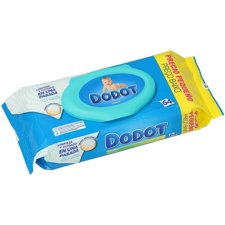 Dodot Toallitas - 1 Paquete de 64 toallitas Procter & Gamble 81553011