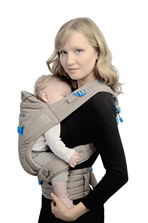 We Made Me Pao Papoose 3 In 1 Front And Back Baby Carrier Pebble