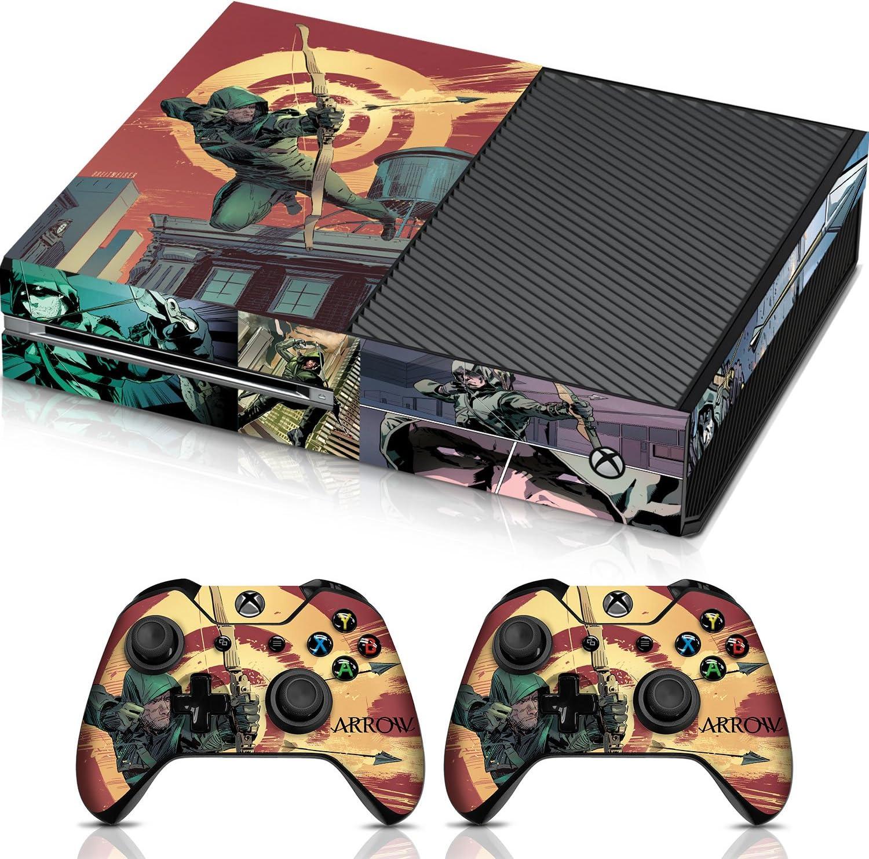 Amazon com: Controller Gear Arrow Target - Xbox One Combo Skin Set