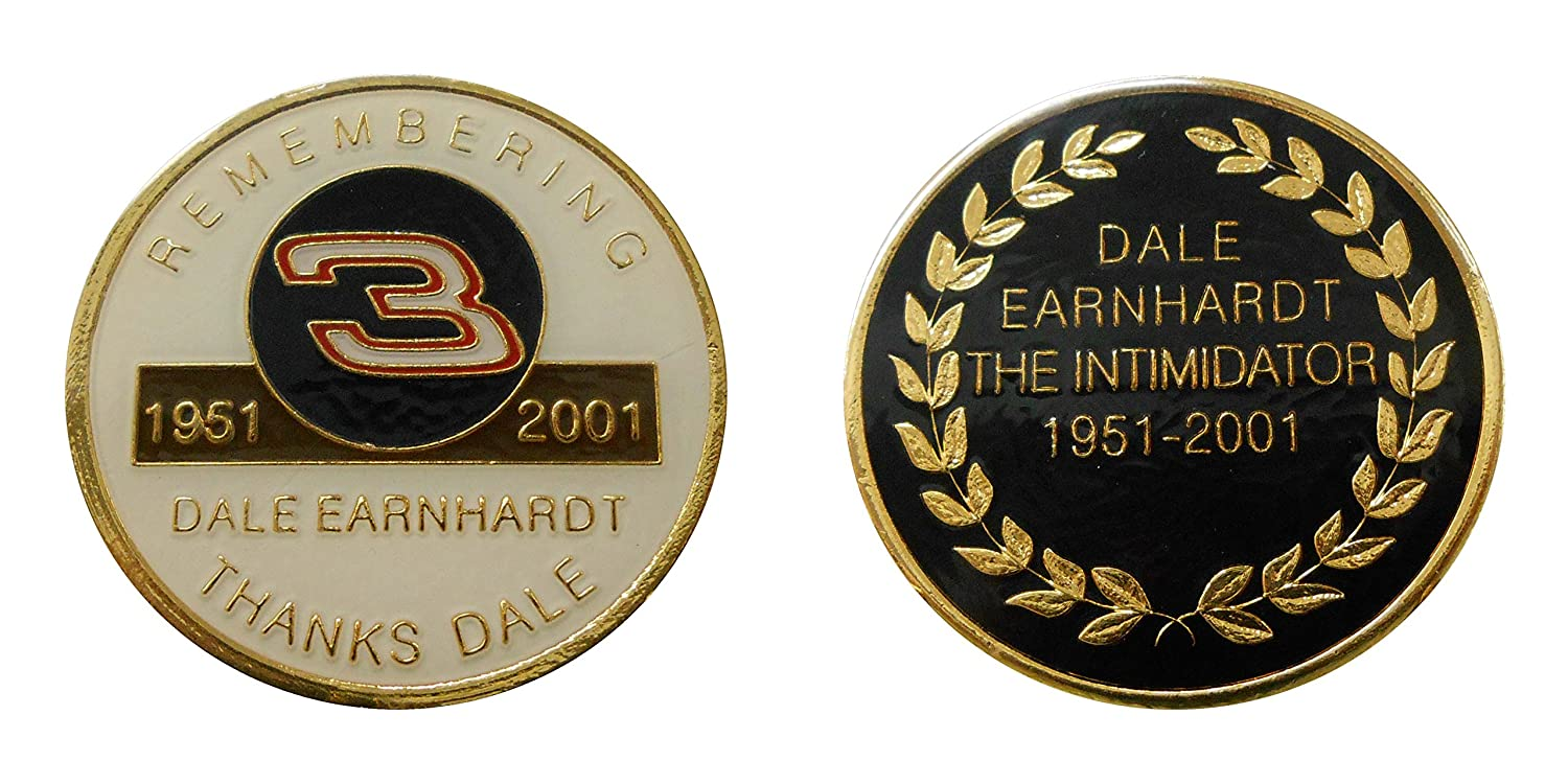 Dale Earnhardt Sr # 3 Collectible Nascar Challenge CoinロゴPoker / Luckyチップ&ギフト B00LTYXPWQ