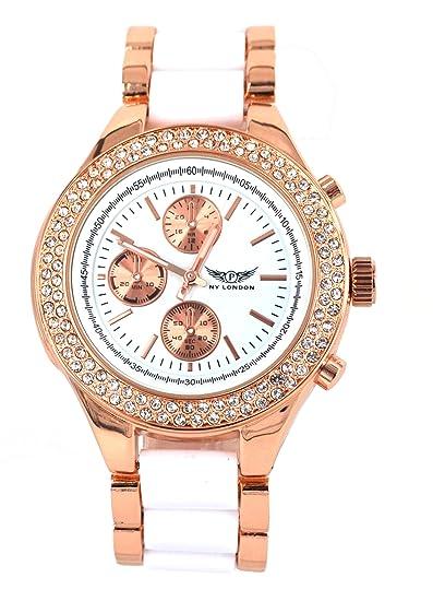 AP London Pl-7011 White - Reloj para mujeres