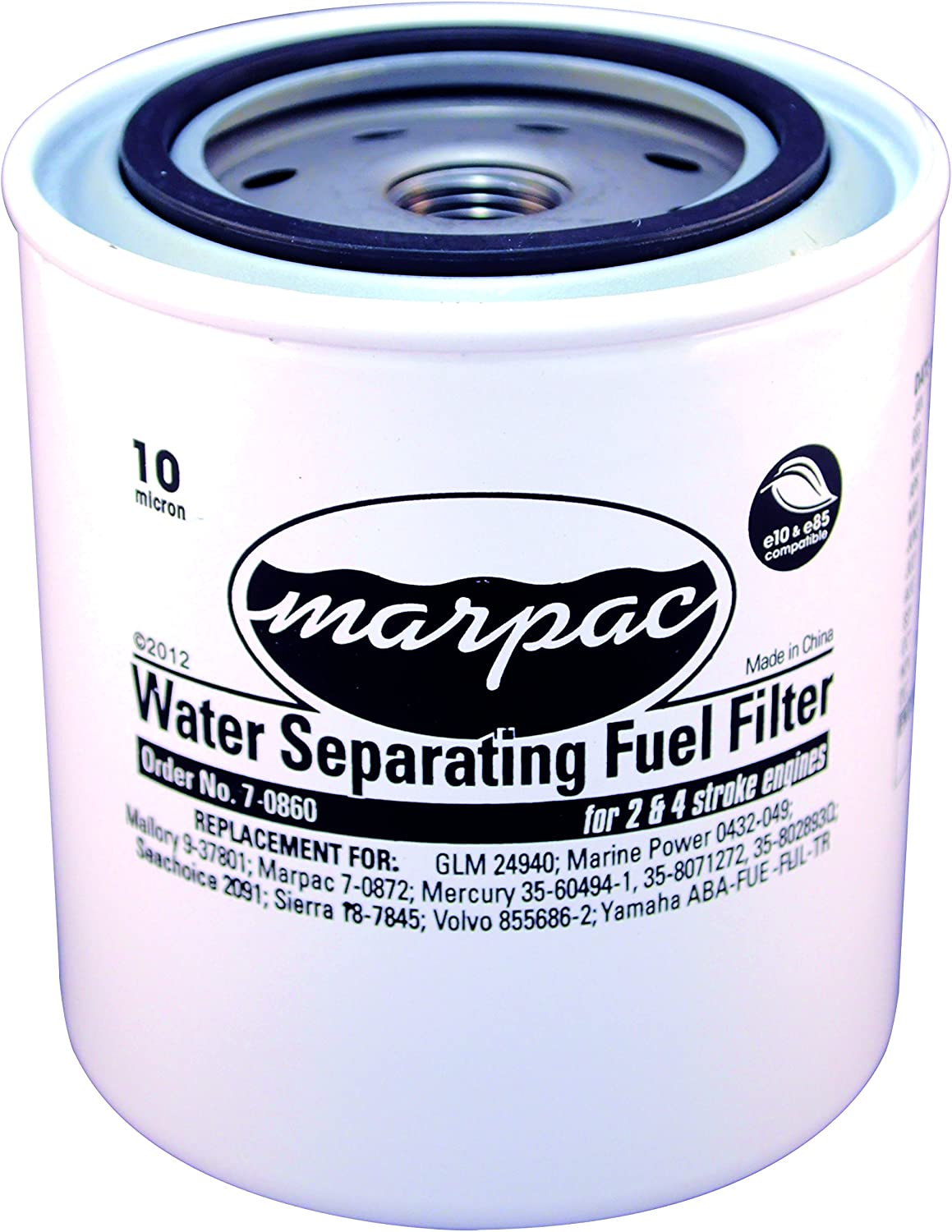 1 Micron Particulate//1 PPM Oil Removal Efficiency 10C10-050 Replacement Filter Element for Finite HN1L-10C