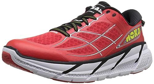 Hoka One One Zapatillas para Correr en Asfalto, Hombre, Color Rojo, Talla 44: Amazon.es: Zapatos y complementos