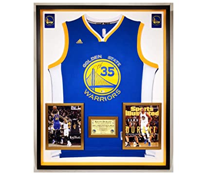 9d6274a0143 Image Unavailable. Image not available for. Color  Premium Framed Kevin  Durant Autographed Signed Golden State Warriors Adidas Jersey - BECKETT COA