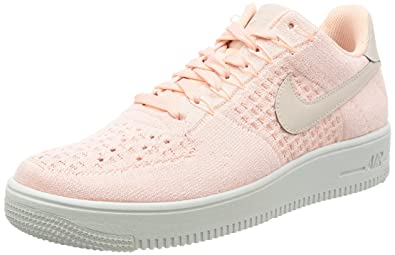 NIKE Herren Schuhe Air Force 1 Flyknit Low 817419 601 pink