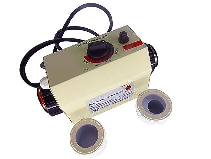 gr-tech Instrumento® 3 KW Calentador de agua para piscina y baño Spa 220
