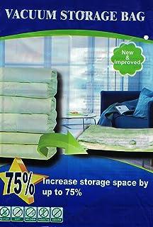 6 PACK Big Extra Large Space Saver Vacuum Storage Bags + 2 Travel Bags  sc 1 st  Amazon.com & Amazon.com: 4 PACK JUMBO / Extra Large Space Saver Vacuum Seal ...
