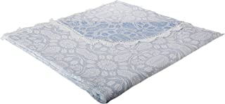 product image for Colonial Rose Matelasse Bedspread - King - Wedgewood Blue