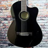 Fender CC-140SCE Acoustic-Electric Guitar with Case