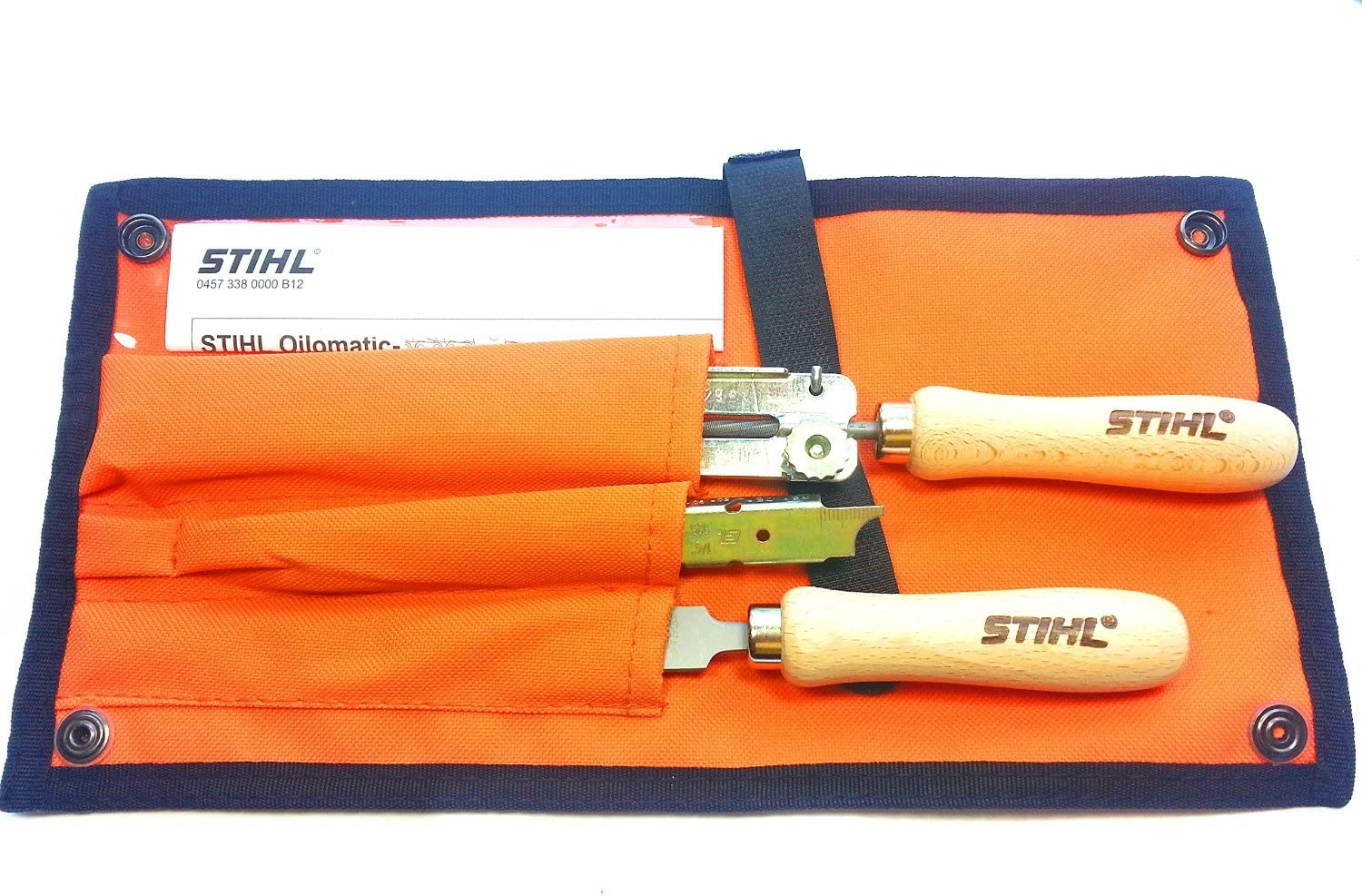 Stihl 56050071027 Complete Saw Chain Filing Kit