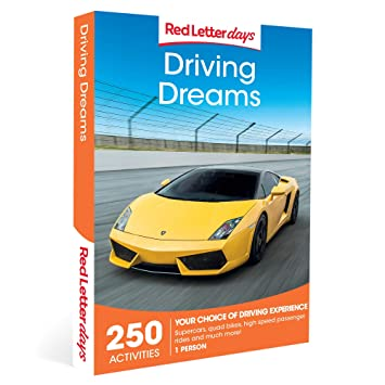 Red Letter Days Driving Dreams Gift Voucher - 250 exhilarating driving experiences: Amazon.co.uk: Sports & Outdoors