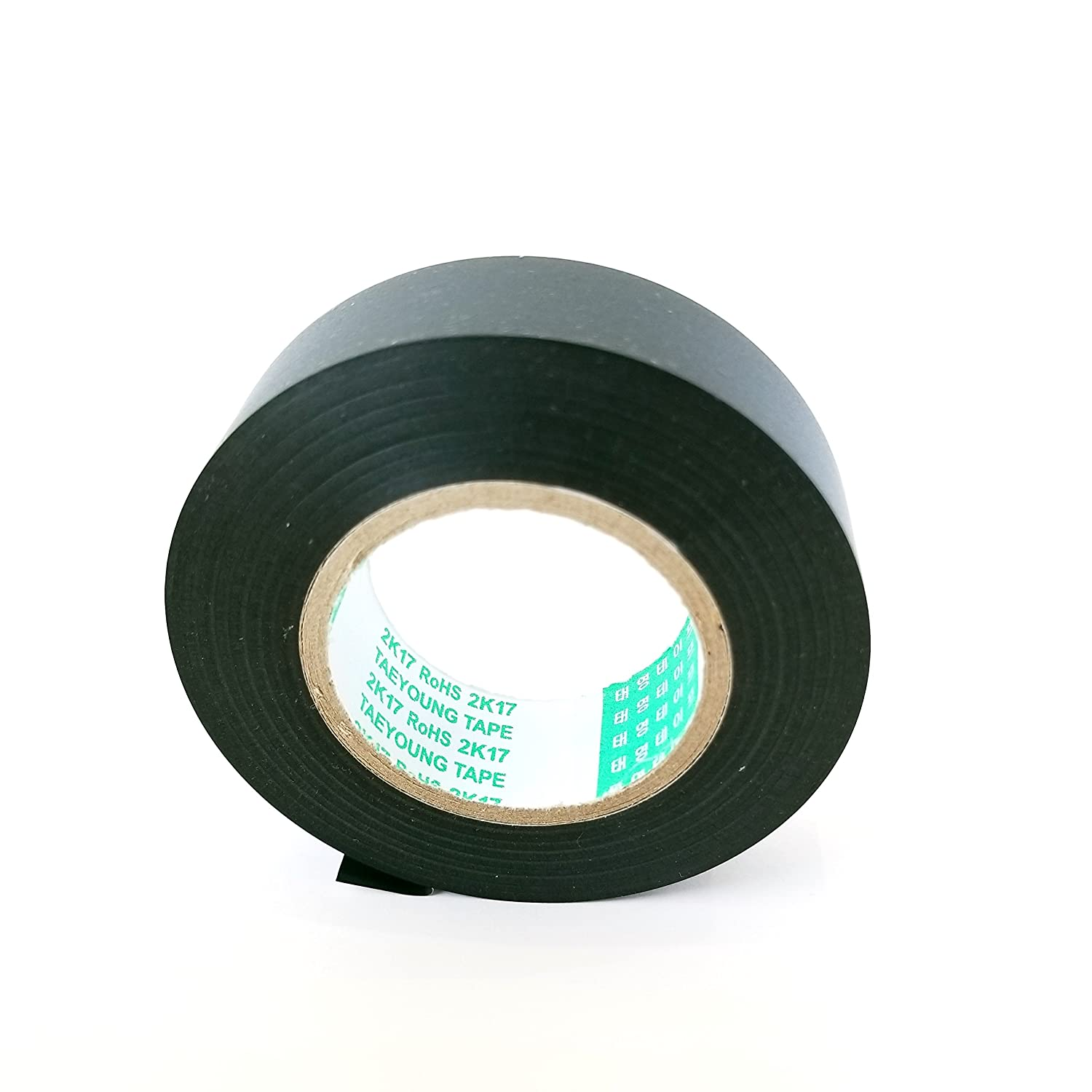 Amazon.com: TAEYOUNG GM/FORD PART-PVC TAPE <5 ROLLS of 3/4 x 82ft roll>  (19MM x 25M,Wire Harness Adhesive,PVC,BLACK): Automotive