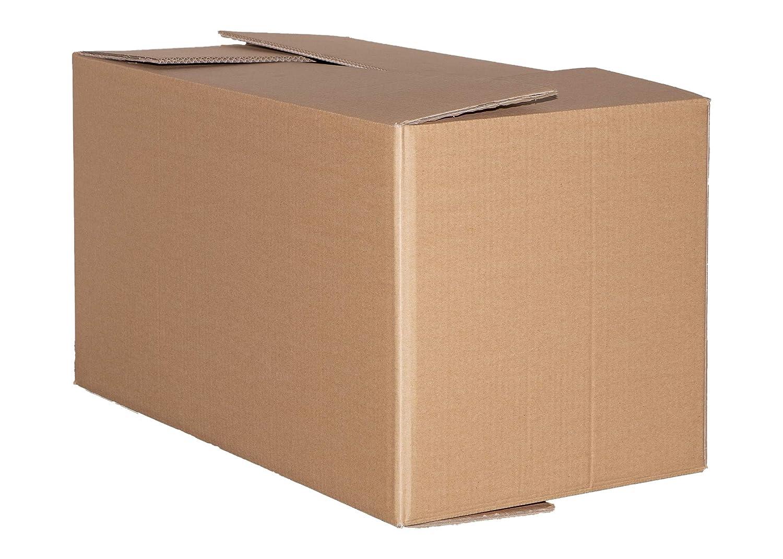 Faltkartons 800x600x600 2-wellig Umzugskartons DHL Post Europaletten Maß 12 St