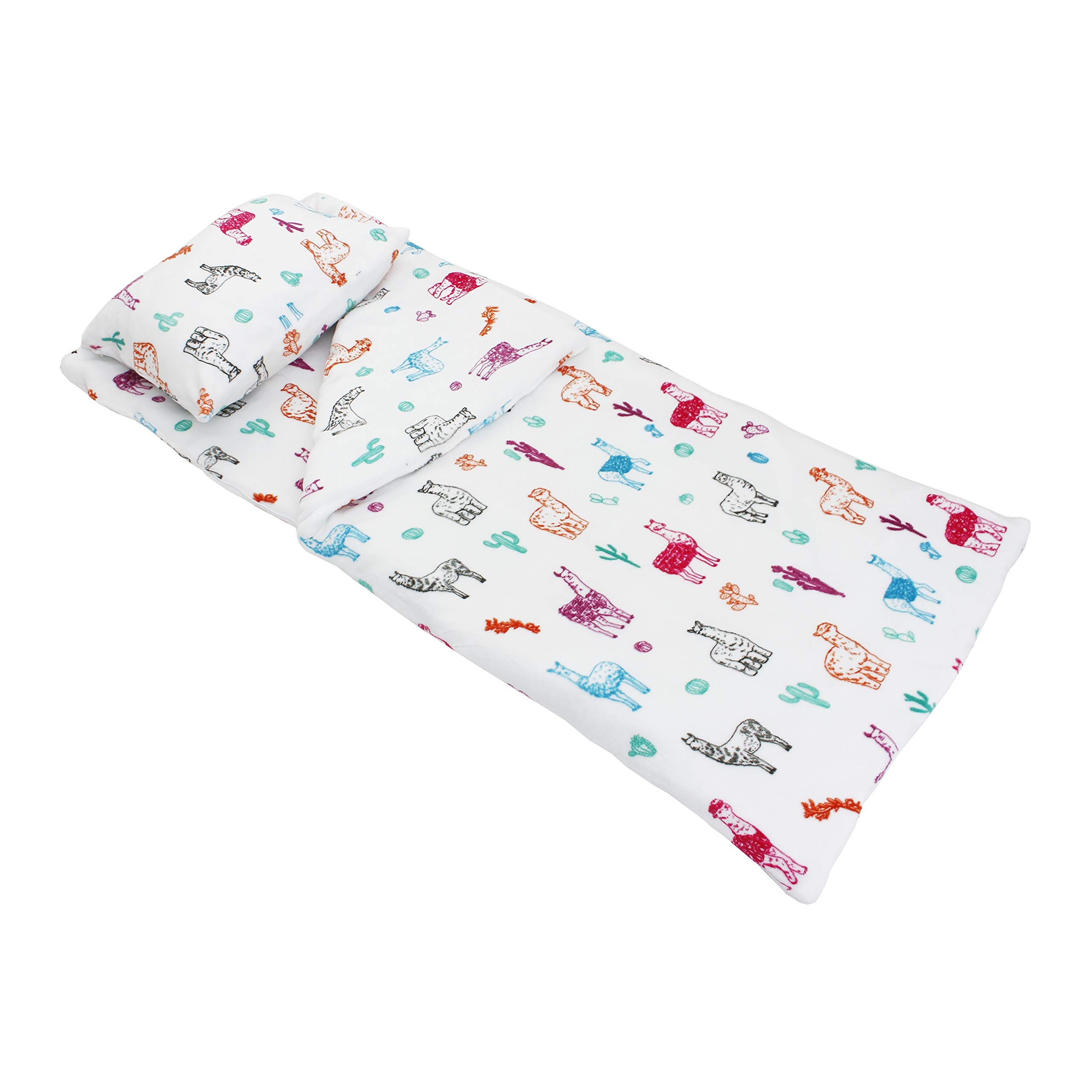 Thro by Marlo Lorenz Sleeping Bag and Pillow, White by Thro by Marlo Lorenz
