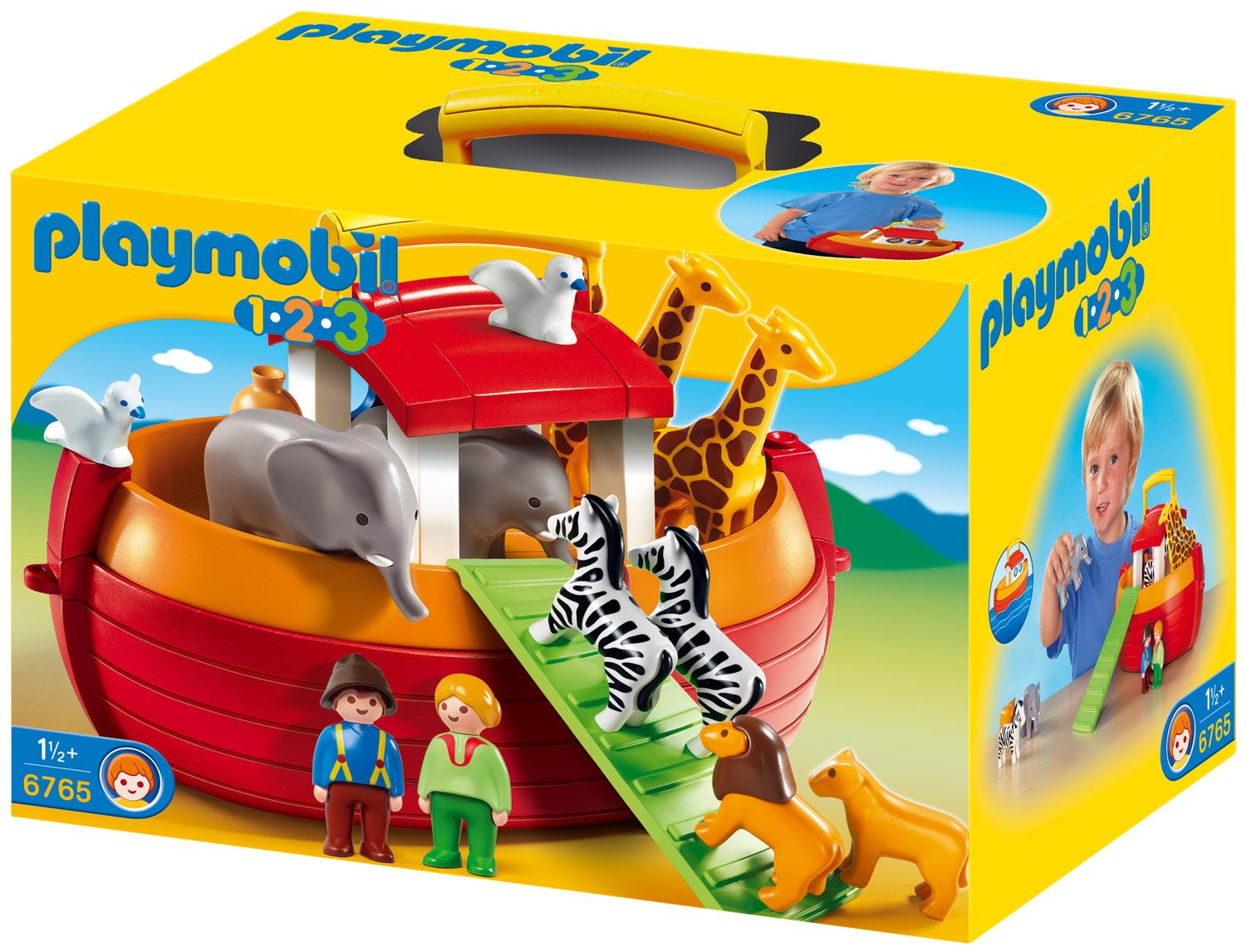 PLAYMOBIL 1.2.3 My Take Along Noah?s Ark