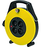 Brennenstuhl 1102761 Confort-Line CL-X Enrouleur électrique 10 m H05VV-F 3G1,0 Jaune