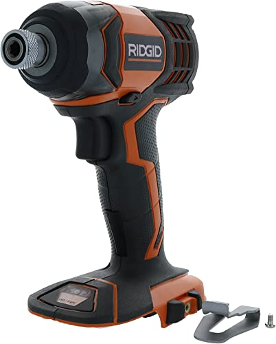 Ridgid R86034 X4 18V Lithium Ion 1750 LBS Torque 1 4 Inch Hex Shank Impact Driver Battery Not Included, Power Tool Only