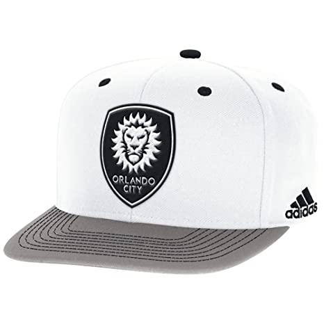 los angeles 744ba 7bdd0 Buy MLS Orlando City S.C. Adult Kicker Snapback, OSFM, White Online at Low  Prices in India - Amazon.in