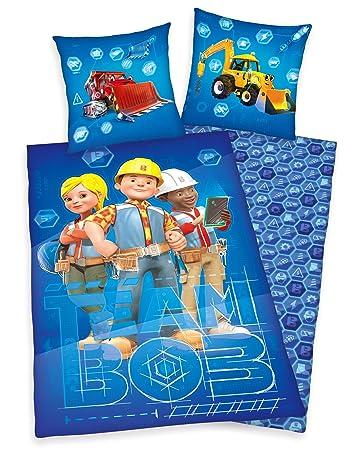 Bob Der Baumeister Bettwäsche 80x80cm 135x200cm 100 Baumwolle