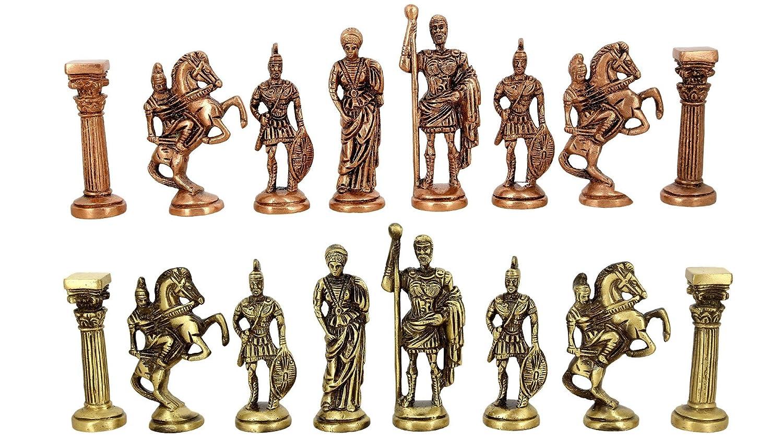 割引 ハンドメイド真鍮Roman B01FXSQ5O8 Laqueredチェスpieces-without board-chessピースのみ B01FXSQ5O8, サバエシ:1c67f27a --- arianechie.dominiotemporario.com
