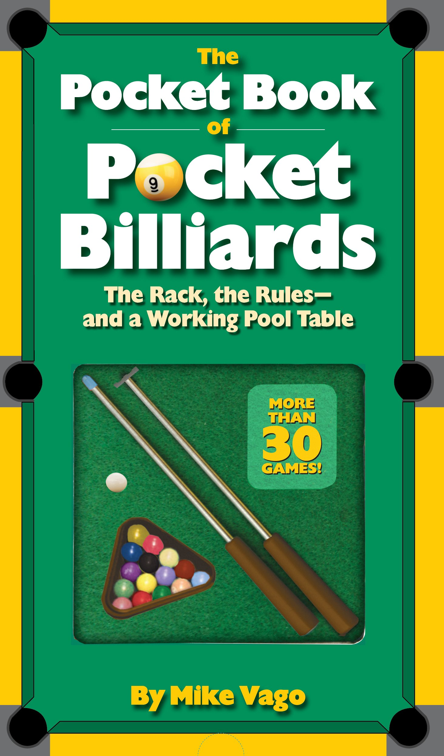The Pocket Book Of Pocket Billiards The Rack The RulesAnd A - How to rack a pool table