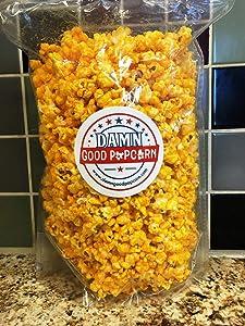 Damn Good Popcorn's Gourmet Cheddar Cheesy Popcorn 7 oz Bag