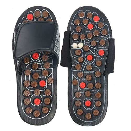0dc885f017431 YaeKoo Pantofole per Piedi Scarpe per Sandali sani Scarpe per Massaggio  riflessivo Pantofole Massaggiatore per Piedi