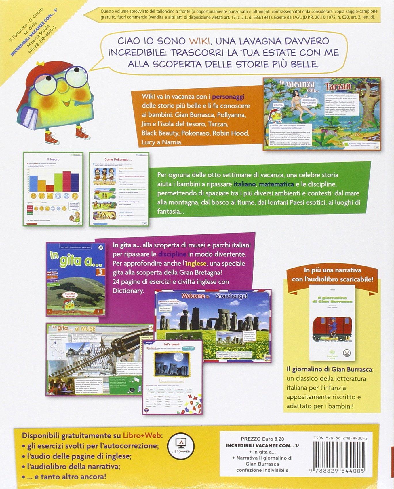 Amazonit Incredibili Vacanze Con Per La Scuola Elementare 3