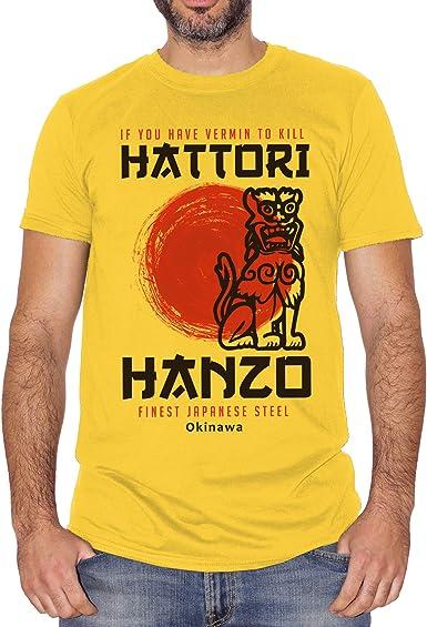 Film Choose ur Color T-Shirt Hattori Hanzo Kill Bill Tarantino Pulp Fiction