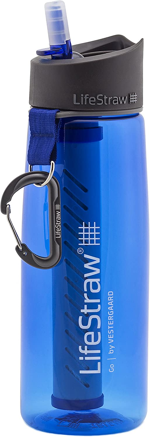 van life gifts lifestraw flask in blue