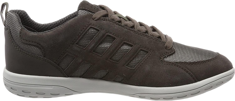 Geox Herren U Mansel A Sneaker Grau Charcoal