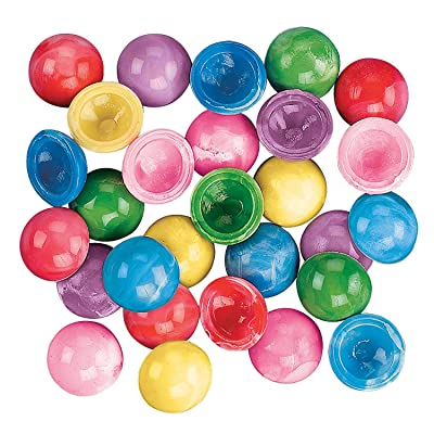 Fun Express - Mini Marbleized Poppers - Toys - Character Toys - Poppers & Pop - Ups - 144 Pieces: Toys & Games