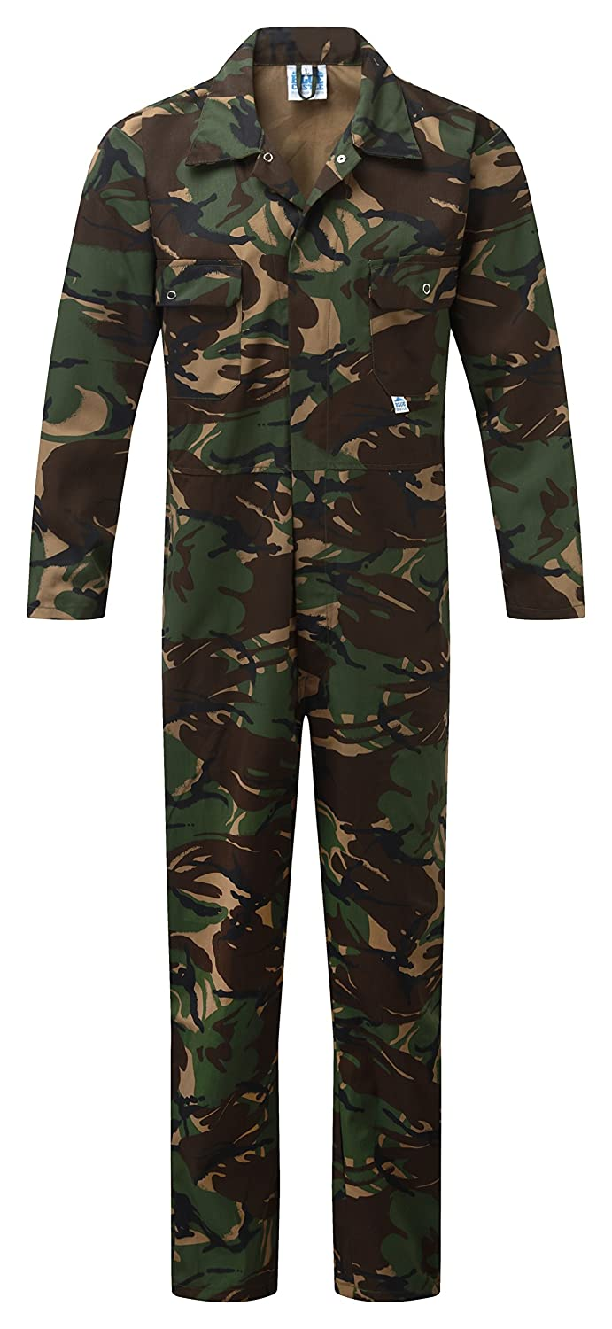 Castle Clothing, 334/CM-XXL, Castello blu tuta 334 Boiler Completo Camo, multicolore, 334 Castle Clothing Ltd