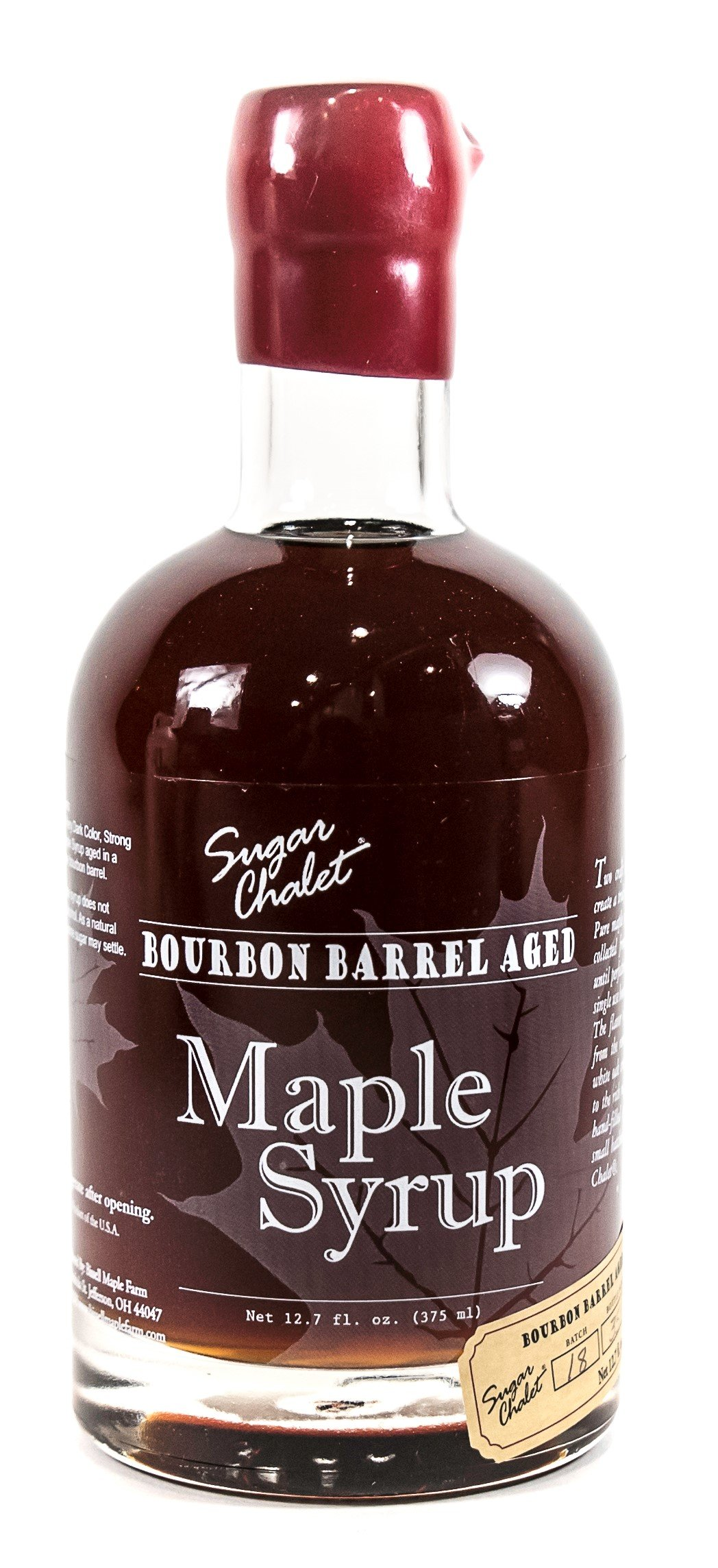 Bissell Maple Farm Grade A Maple Syrup, Bourbon Barrel Aged by Sugar Chalet