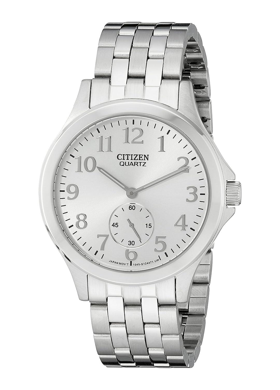 Citizen Men S Eq9050 57a Analog Display Japanese Quartz Silver Watch