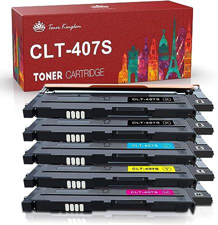 Toner Kingdom Compatible Compatible Samsung Clt K4072s Clt K409s Bürobedarf Schreibwaren