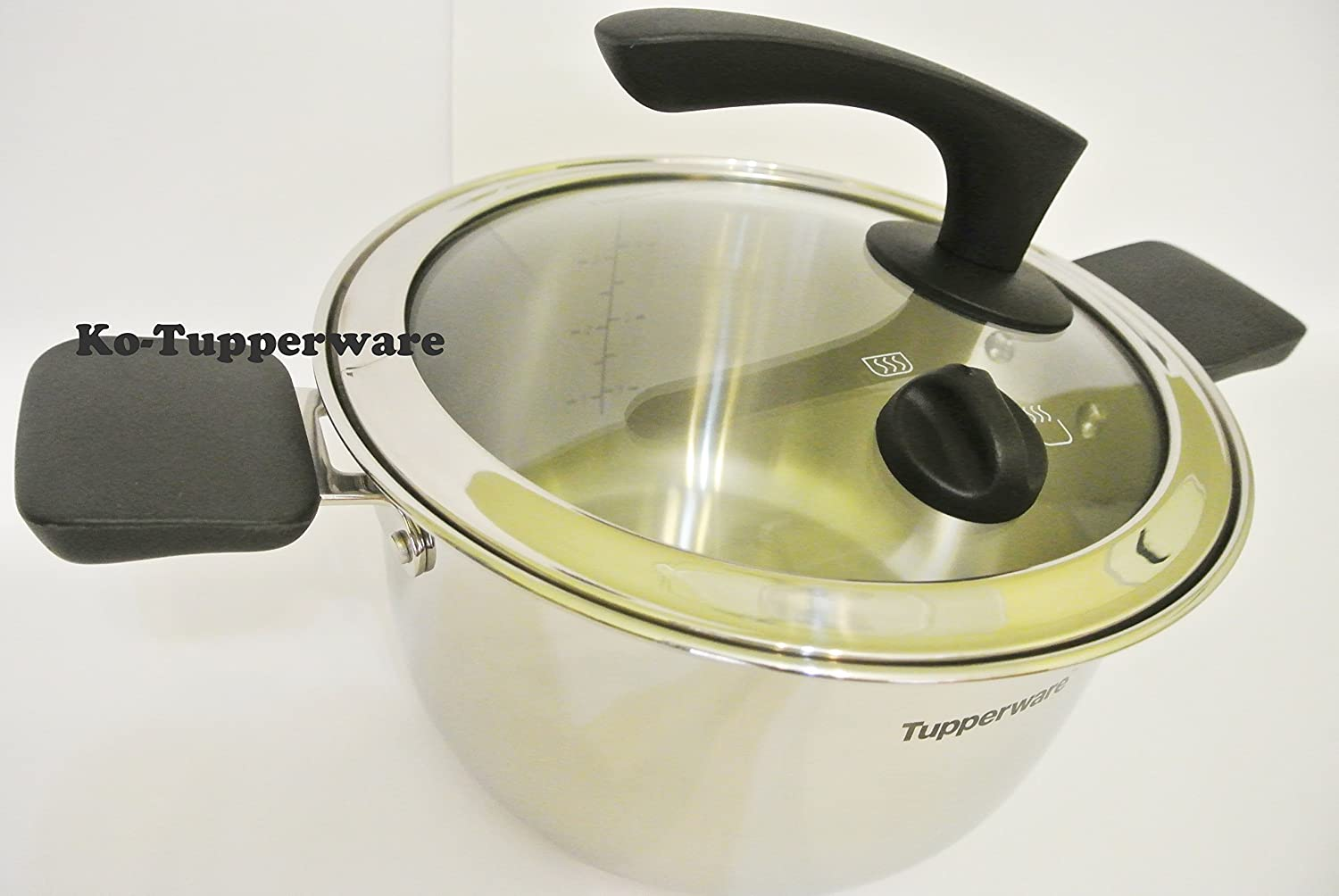 Tupperware Chef Inspire Casserole Pot 37l Electric Gas Tchef Fry Pan Ceramic Induction Kitchen Dining