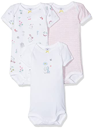 5e61e2df597a9 Petit Bateau LOT 3P Body US MC Body Bébé Fille Multicolore (Special Lot 00)